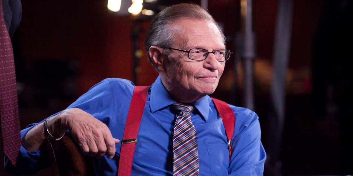 Il conduttore televisivo Larry King è morto
