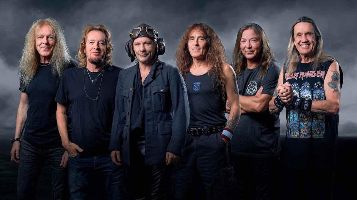 Iron Maiden nuovi singolo writeing on the wall