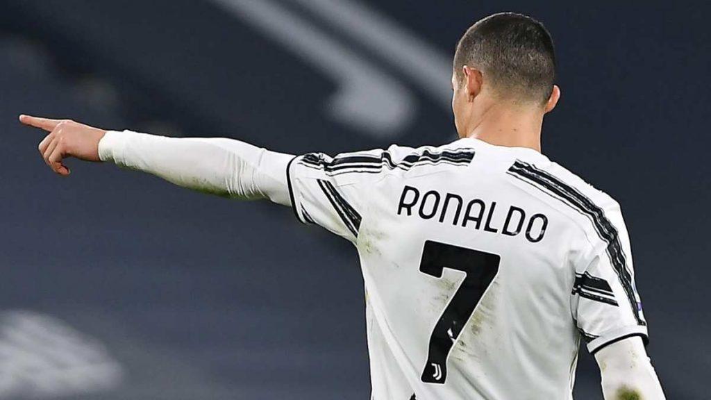 Crstiano Ronaldo verso il Manchester United