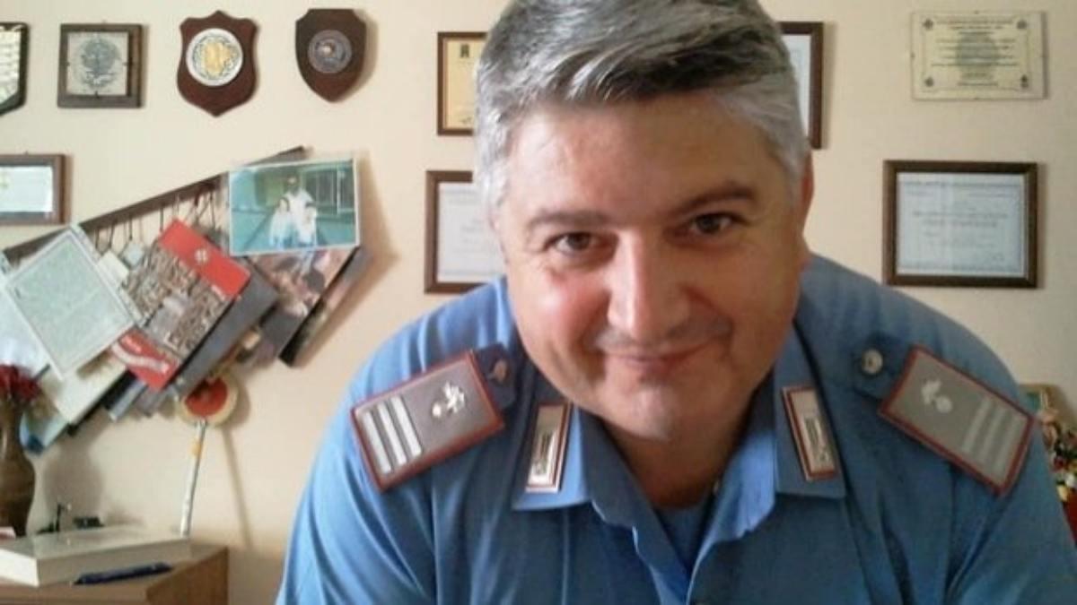 Carabiniere Massimo Paris