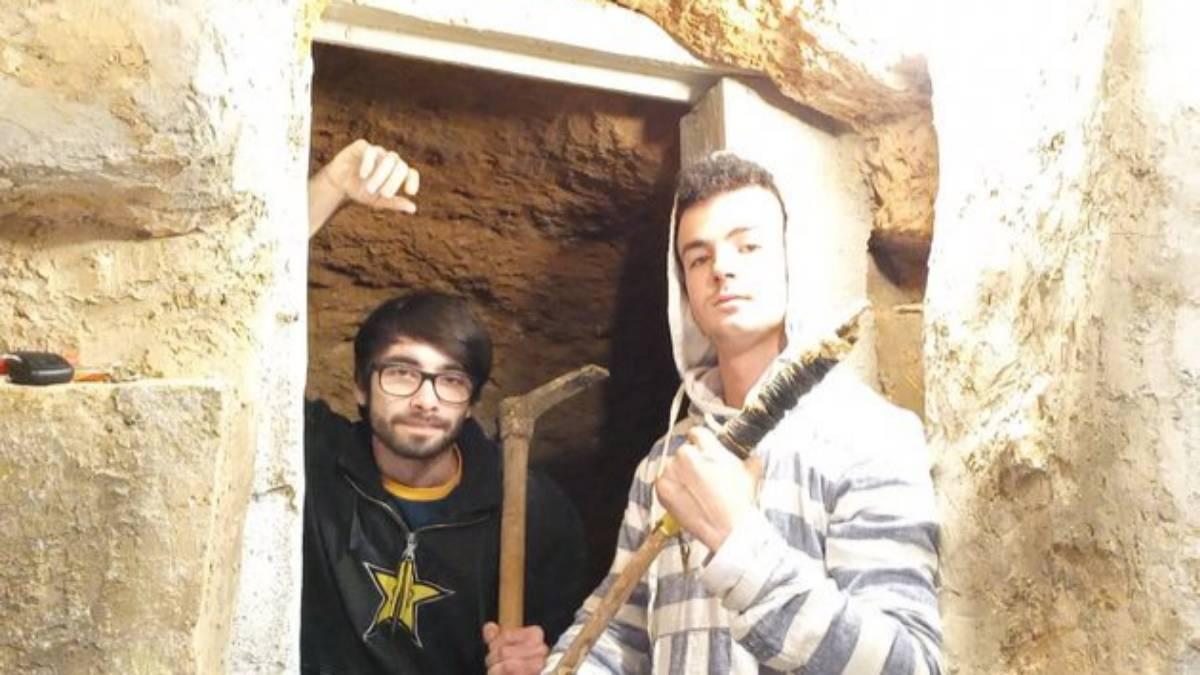casa ricavata da una grotta