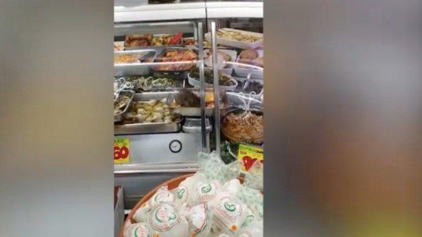 topo bancone supermercato Roma