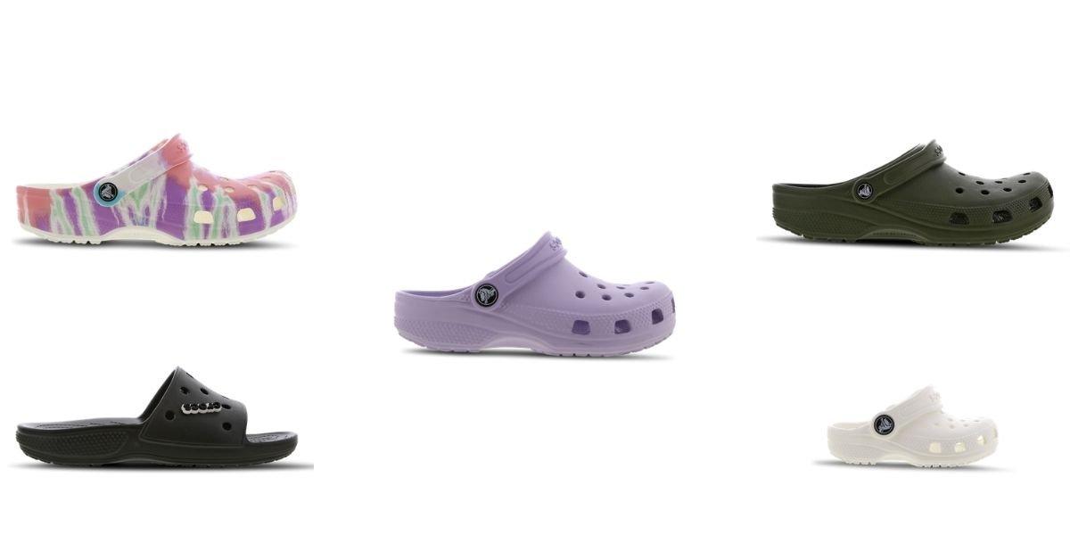I migliori modelli di Crocs