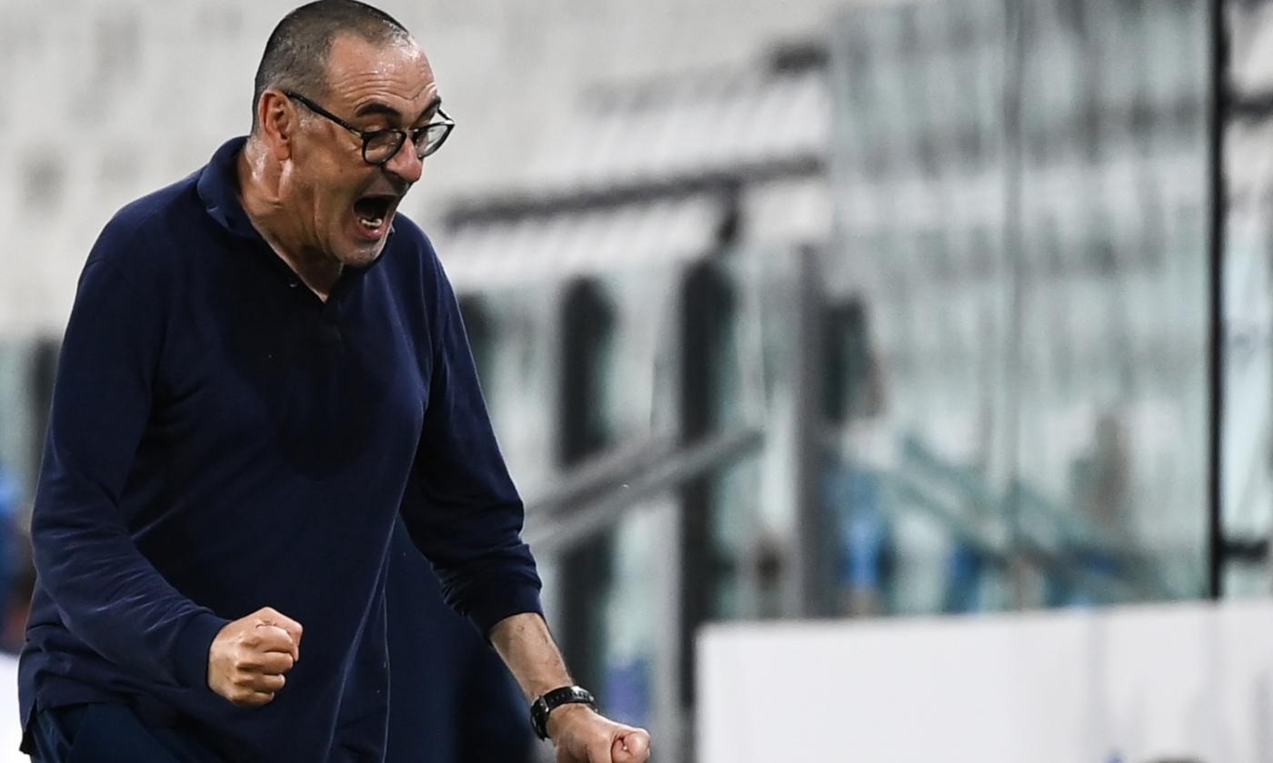 Maurizio Sarri alla Lazio
