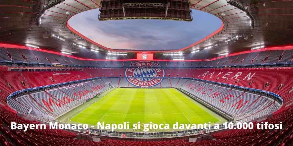 Diretta streaming Bayern Monaco - Napoli