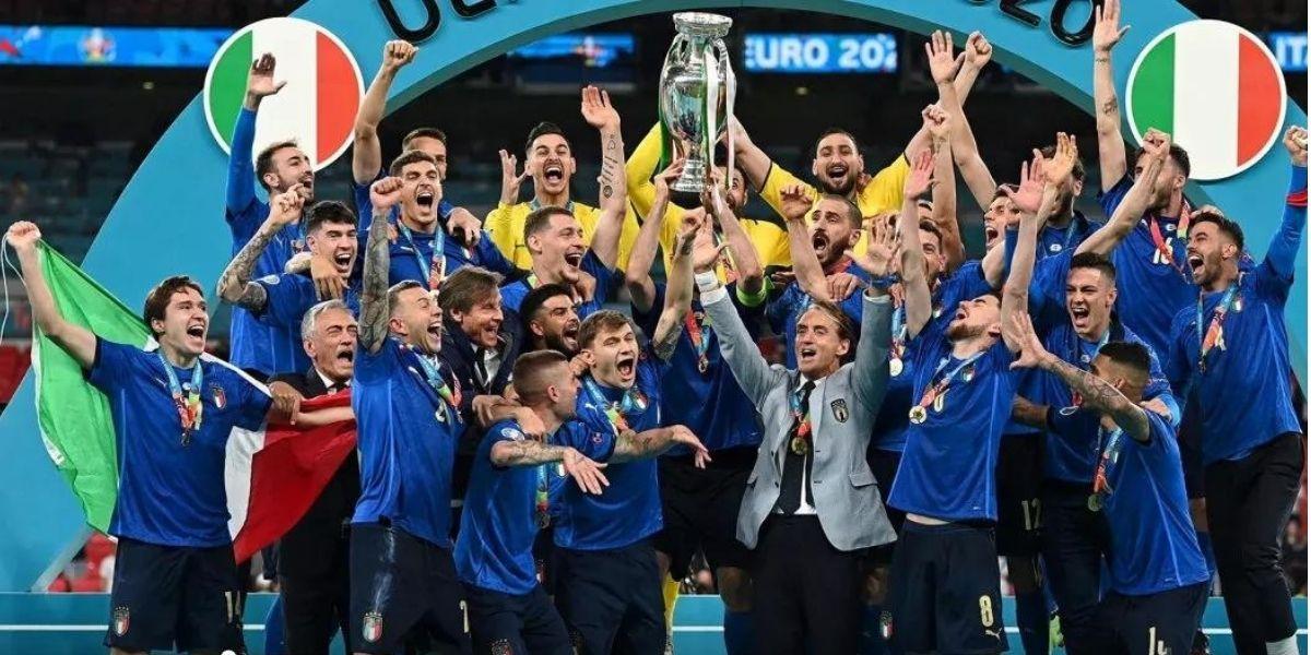 Italia - Inghilterra trionfo degli azzurri di Mancini