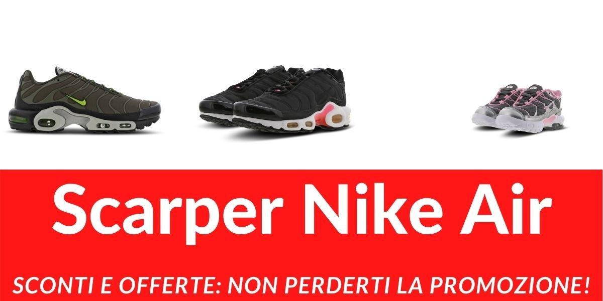 Offerta scarpe Nike