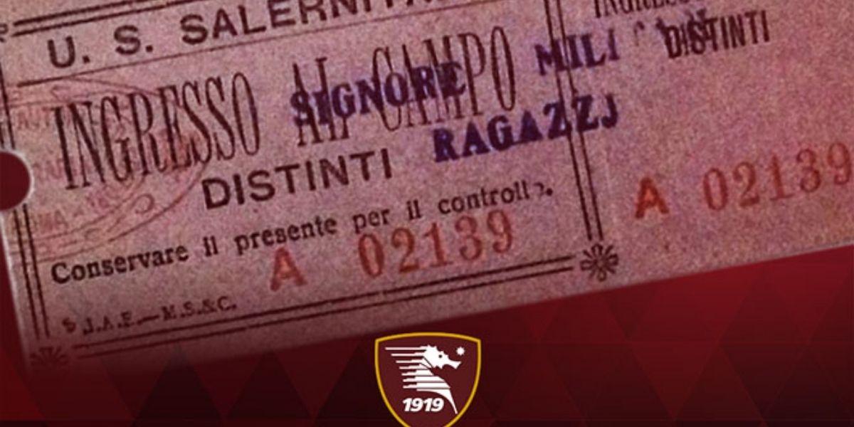 Biglietti Salernitana - Roma: partita la prevendita