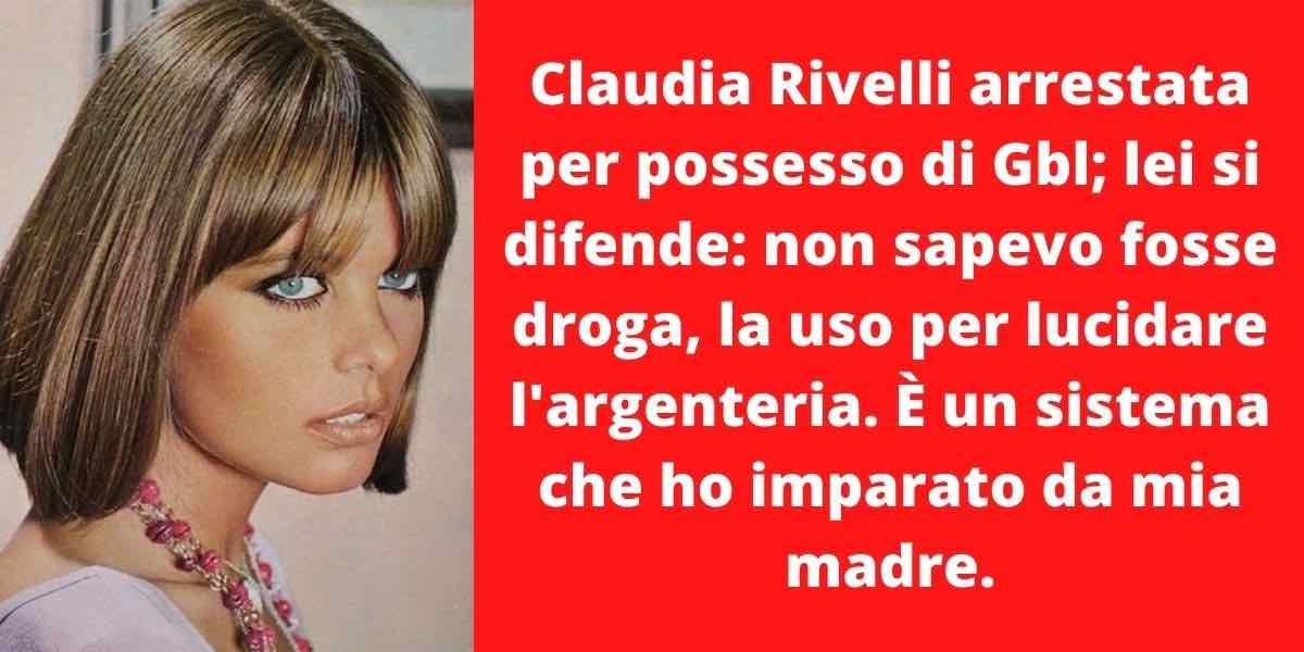 Droga dello stupro: arrestata Claudia Rivelli