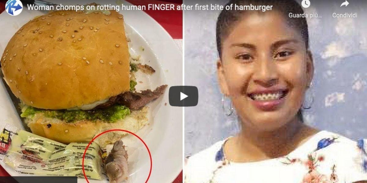 dito nell'hanburger: disavventura per una ragazza boliviana
