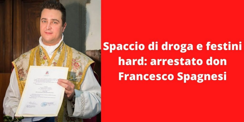 Arrestato parroco di Prato, don Francesco Spagnesi