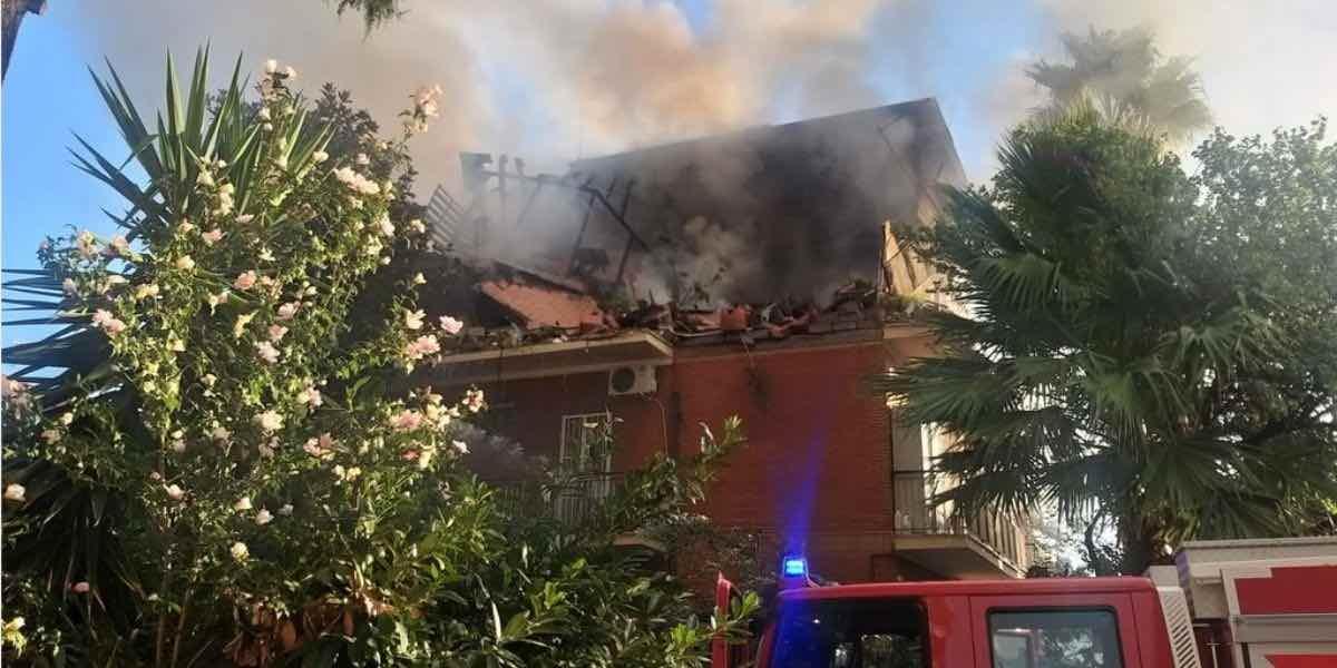 Esplode appartamento a Torre Angela: quattro feriti