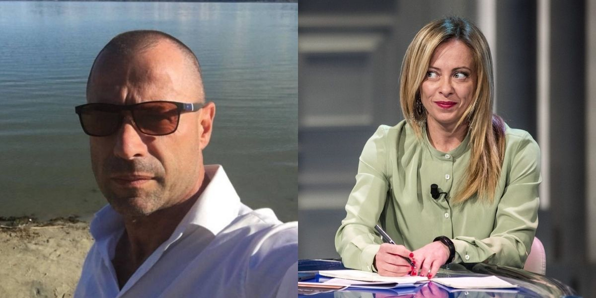 Gorgia Meloni e la morte del poliziotto No Vax