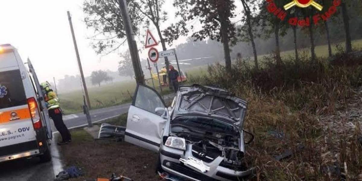 Incidente a Cavaglietto: vittime Sabrna Boscolo e Giada Cantoia
